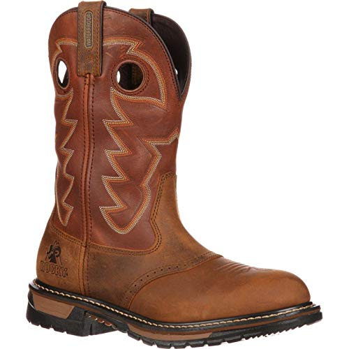 Rocky Men's Original Ride Saffron Work Boot