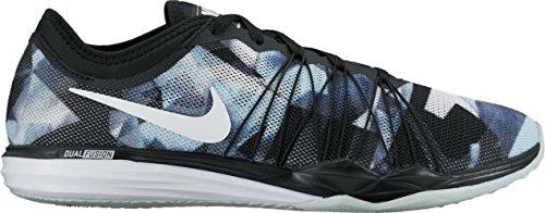 Nike W Dual Fusion Tr Hit Prnt - black/glacier blue-wolf grey-w