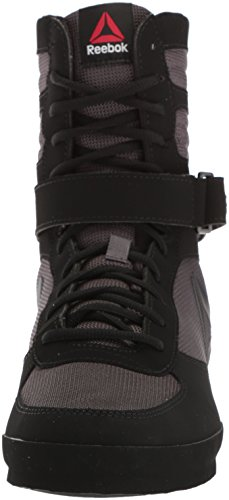Reebok Mens Boxe Di Boot-buck Cross Trainer Buck - Grigio Nero / Cenere