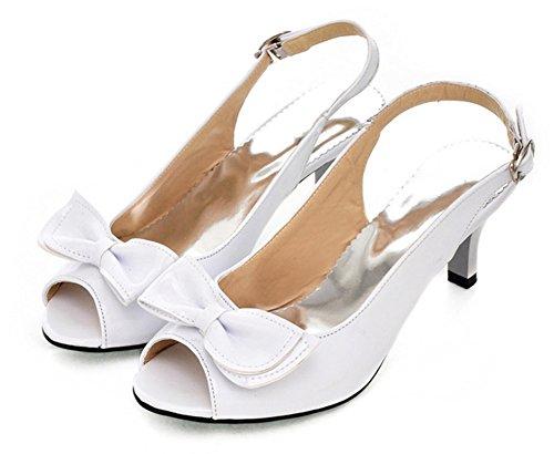 Peep Toe Casual Slip - 6