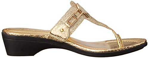 Gold Flip Glitter Mid Fisher Women's Amina Flop 2 Marc zYIqRRg