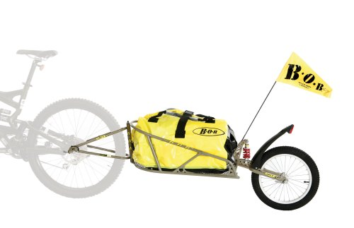 BOB Ibex 28 Plus Suspension Bike Trailer with Dry Sak -