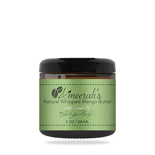 Natural Whipped Mango Body Butter & Coconut Oil | Body Moisturizer Cream | Unscented - 2 - Butter Unscented Shea Whipped