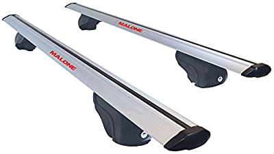 Malone AirFlow2 Universal Cross Rail Roof Rack