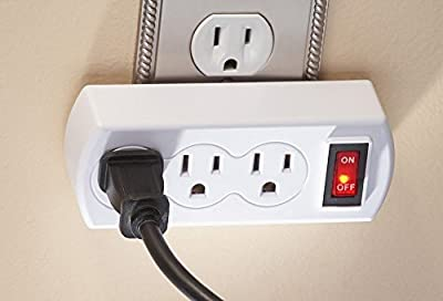 WalterDrake 3 Plug Outlet Switch