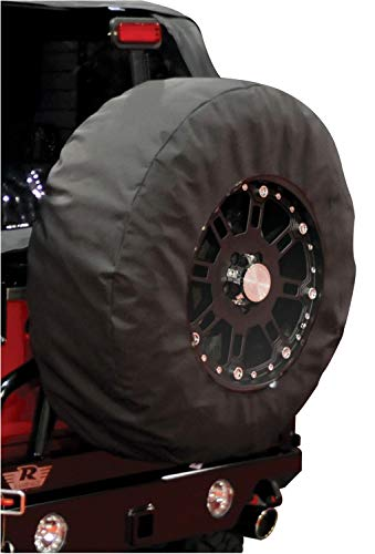 (Rampage Products 783235 Universal Large Window Pane Tire Cover with 17