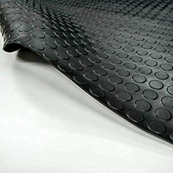 120 x 280 cm SBR Noppenmatte Gummimatte Bodenmatte Gummil/äufer Bodenbelag Breite 120cm 3mm