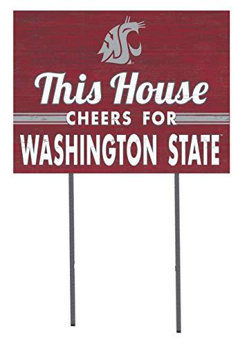 KH Sports Fan 18x24 Lawn Sign Washington State