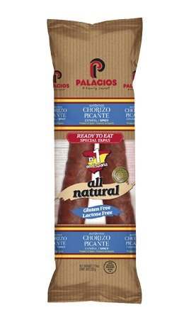 Palacios - Hot Spanish Chorizo, 2 - 7.9 oz. Packages