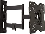 AmazonBasics Heavy-Duty, Full Motion Articulating TV Wall Mount for 22-inch to 55-inch LED, LCD, Flat Screen T