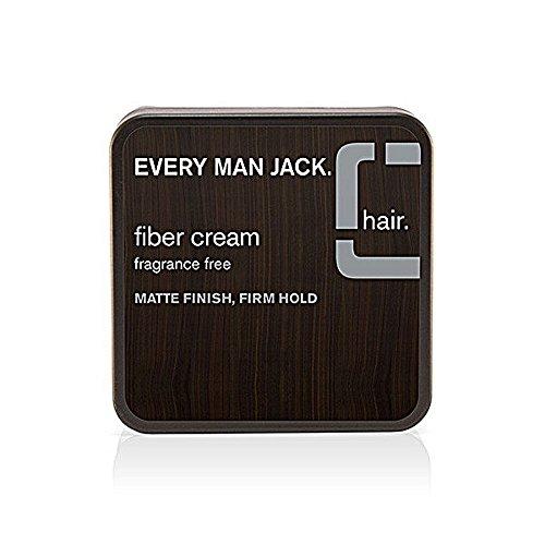 Every Man Jack - Maintenez Fragrance fibre crème au fini mat cabinet Gratuit - 2,65 oz
