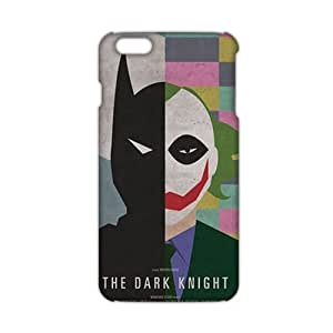 Angl 3D Case Cover Cartoon Batman And Joker Phone Case for iPhone6 plus