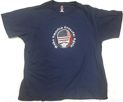 (LilyDeal Make America Grateful Again Patriotic t-Shirt Navy Blue (X-Large))
