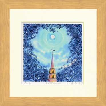 《水彩画》Harumi Kurinoki-S full moon(栗乃木 ハルミ フルムーン) B00AYT27DA