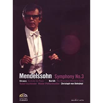 Dohnanyi Conducts Mendelssohn: Symphony No. 3, Strauss and Bartok (2009)
