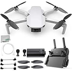 The Mavic Mini from DJI is a compact drone that offers professional-quality results with no restrictions. Thanks to its small size, the Mavic Mini can fly where larger drones are legally not permitted, or where a drone license is required. Th...