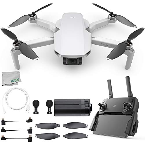 DJI Mavic Mini Portable Drone Quadcopter Starters Bundle – CP.MA.00000120.01
