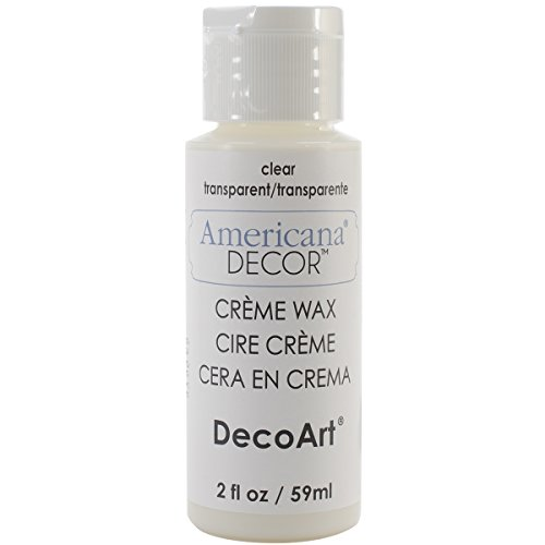 (DecoArt ADM01 Americana Creme Wax, 2 oz, Clear)