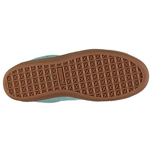 femme Baskets Baskets Officiel Sneakers Vikky Chaussures Puma Aqua Sports forme daim plate pour P8q6CP