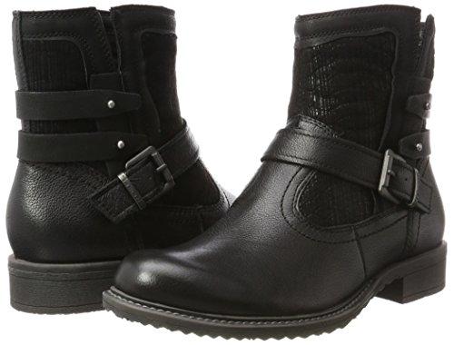 Femme Noir black Bottes 25436 Tamaris xnZ60n