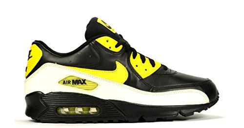 "Nike Air Max 90 Premium ""Glow In The Dark Pack"" - Black/Voltage Yellow"