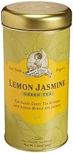Zhena's Gypsy Tea, Lemon Jasmine, 22-Count Tea Sachets (Pack of 6)