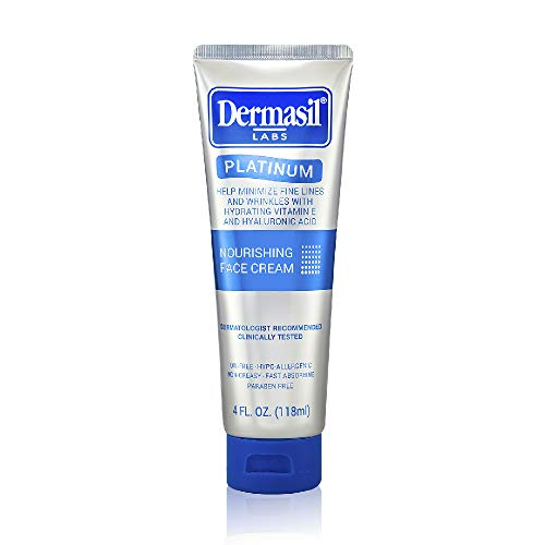 415rdwkb6lL - Advanced Day & Over Night Face Cream Dermasil Platinum Dermatologist Recommended Anti-Aging Treatment, Nourishing & Moisturizing 2-in-1 Relief, Protection & Repair Cream for Dry Skin (Pack of 2)