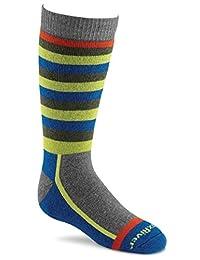 Fox River Kids Snow Day Over-The-Calf Merino Wool Socks, X-Small, Grey