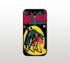 Old Batman Comic Book iPhone 5 5s Case - Hard Plastic Snap-On Custom Cover - Black - Vintage