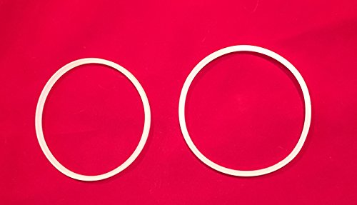Bella Personal Size Rocket Blender Replacement Parts (Two gaskets 3