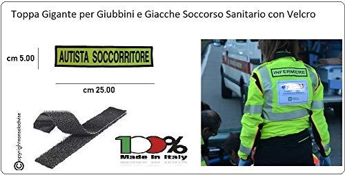 GS1 Parche Bordado con Velcro Verde Fluorescente Bordado Negro de ...