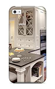 Case Cover White Kitchen With Counter Seating And Banquette/ Fashionable Case For Iphone 5c
