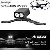 Fdrone   Upgrade RC VISUO XS812 LED Lamp Night Light Headlamp XS812 Drone Accessories Black