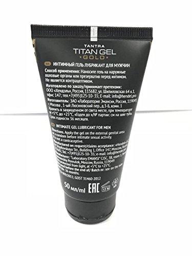 titan gel gold combo pack 2x50ml vip formula special gel for men
