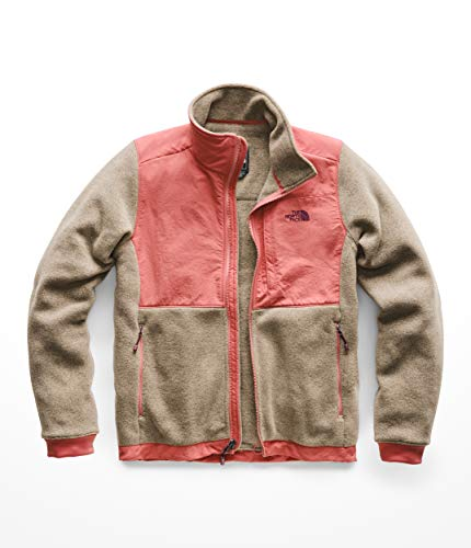 The North Face Denali 2 Jacket - Women's Falcon Brown Heather/Faded Rose Medium ()