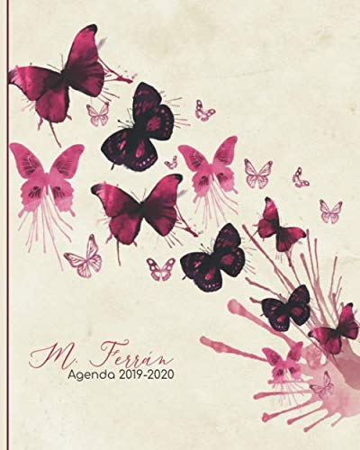 M. Ferrán. Agenda 2019-2020: Hermosa Agenda sin fechas ...