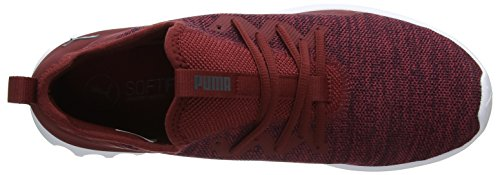 pomegranate Carson Uomo Rosso Knit asphalt X Scarpe Running 2 Puma 1dqn81
