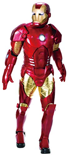 Ironman Costume For Men (Rubie's Costume Co Men's Marvel Universe Supreme Edition Iron Man Costume, Multi, Standard)