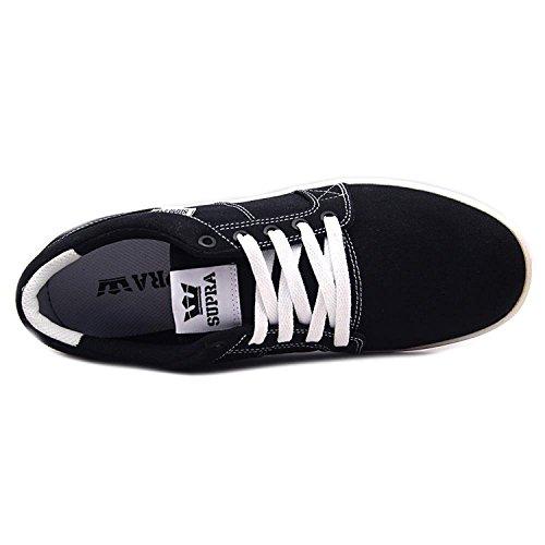 Supra Uomo white Ineto 2 Black Sneaker Pqw70Pyg