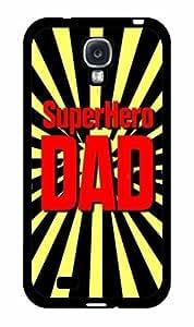 Superhero Dad Plastic Phone Case Back Cover Samsung Galaxy S4 I9500