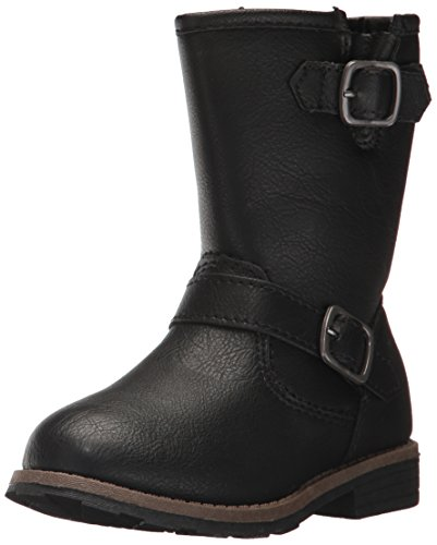 Kids Black Boots (carter's Girls' Aqion2 Fashion Boot, Black, 11 M US Little Kid)