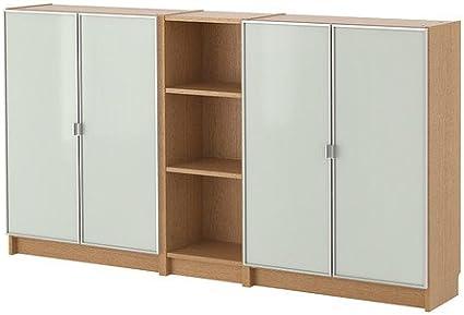 IKEA BILLY / MORLIDEN - Librero, roble - 200x106x28 cm ...