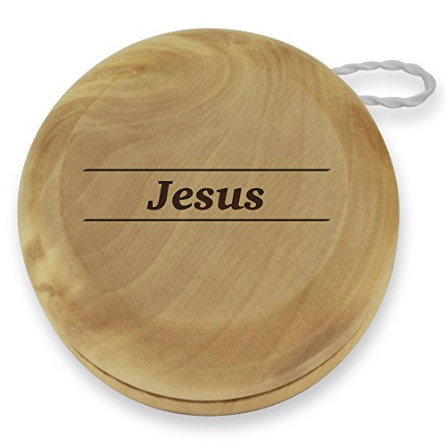 Dress Up Jesus (Dimension 9 Jesus Classic Wood Yoyo with Laser Engraving)