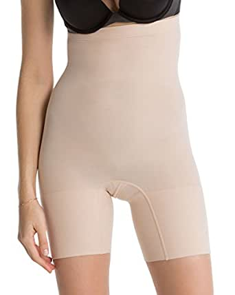 SPANX Women's Higher Power Shorts, Soft Nude, Small