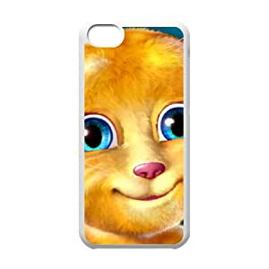 Talking Ginger, a cat iPhone 5c Cell Phone Case White gift E5653137