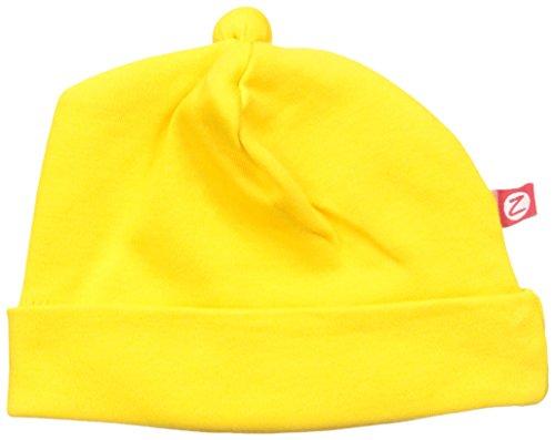 Zutano Baby Primary Solid Hat, Yellow, 3M (0-3 Months) (Hat Zutano Cotton)