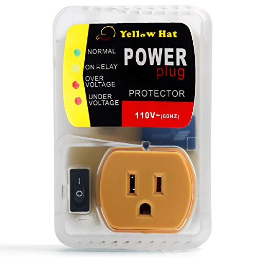 Voltage Protector, Surge Protector for Home Appliance, Voltage Brownout Outlet 110V 20A 2200 Watts