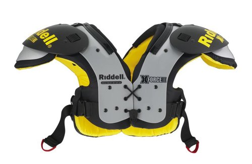 (Riddell X-Force II Youth Football Shoulder Pads (Small))