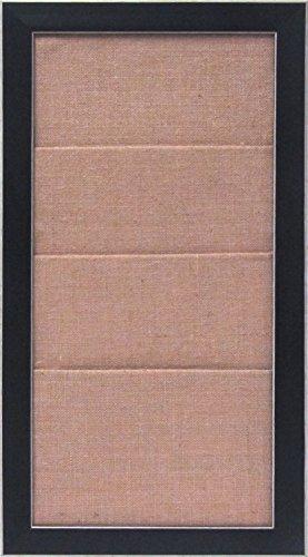 designovation-wyeth-framed-burlap-pockets-wall-organization-board-black