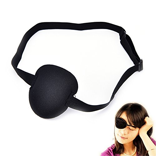 DatingDay Medical Concave Eye Patch Foam with Adjustable Strap